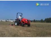 东洋公司T353 HST拖拉机配剪草机