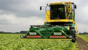Ploeger公司MKC-2TR收获菠菜视频-作业视频