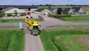 Ploeger公司MKC-2TR收獲香菜視頻-作業視頻