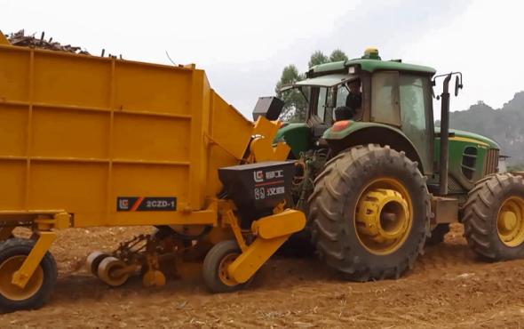 广西柳工种管收运展示视频