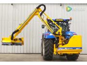 謝爾本660T背負式灌木修剪機-作業視頻