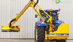 谢尔本660T背负式灌木修剪机-作业视频