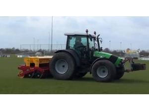 Vredo公司DDS系列草坪播种机-作业视频