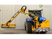 谢尔本HD860Tele背负式灌木修剪机-作业视频