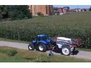 庫恩LEXIS3000牽引式噴藥機-作業視頻