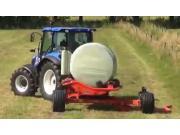 库恩RW1410e-Twin圆捆包膜机-作业视频