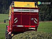 POTTINGER公司FARO和EUROPROFI系列牧草捡拾拖车-作业视频