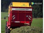 POTTINGER公司FARO和EUROPROFI系?#24515;?#33609;捡拾拖车-作业视频