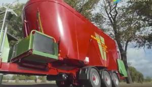 斯特勞曼Verti-Mix4501牽引式飼料攪拌機-作業視頻