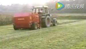 Abbriata公司M120Magnum圓捆打包機-作業視頻