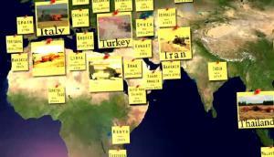 Cicoria打捆机全球分布情况视频展示