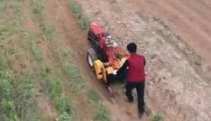 大同手扶式拖拉机旋耕作业-产品介绍