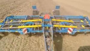 Farmet公司DX800PS联合整地机-作业视频