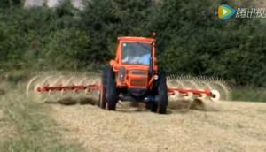 伊诺罗斯V型指轮式搂草机