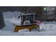 斯太爾拖拉機配套清雪設備
