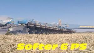 Farmet公司Softer6PS缺口耙-作業視頻