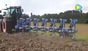 Farmet公司Vidium P系列翻轉犁-作業視頻