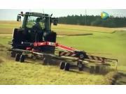 FELLA公司TS系列雙向摟草機-作業視頻