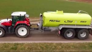Fliegl公司有机肥喷洒机-作业[raybet下载iphone]视频