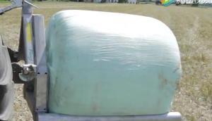 Fliegl公司背負式草捆裝載機-作業視頻