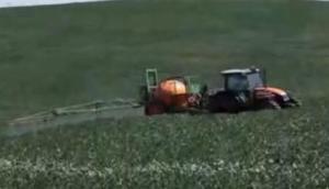 stara公司Fenix2000牽引式噴藥機-作業視頻