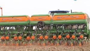 Stara公司Victoria Sementes系列免耕点播机-作业视频