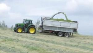 Fliegl公司Toplift系列飼料拖車-作業視頻