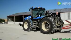纽荷兰T9法国作业视频