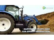 纽荷兰拖拉机应用在生态农场