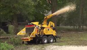 威猛AX19抓樹機與CTX100伐木機共同作業-作業視頻