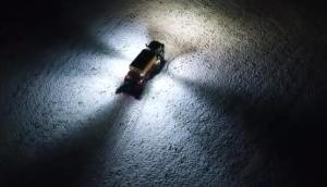 Vredo公司设备夜间作业灯光演示