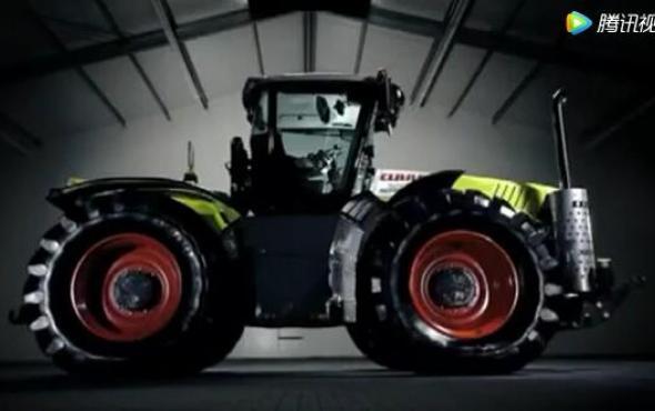 科乐收Xerion5000拖拉机宣传片