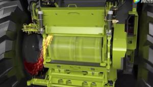 科乐收JAGUAR900青贮机喂入系统