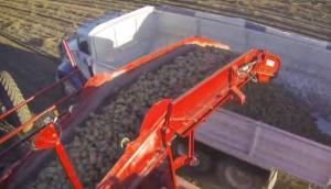 SPUNIK公司5744型土豆收獲機