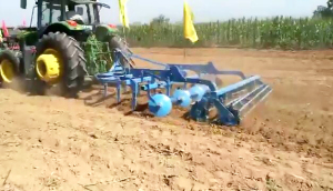 临汾市农机深松作业展示会——满喜农机