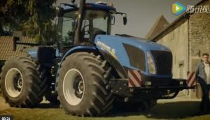 紐荷蘭T9系列大型折腰式拖拉機