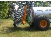 庄稼汉罐式有机肥施用机草坪作业