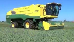 Ploeger公司EPD540自走式豌豆收獲機