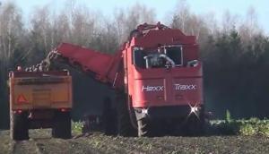 Agrifac公司大型自走式甜菜收获机