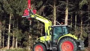 Fliegl公司樹木修剪機作業視頻