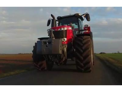 麦赛福格森MF8700 270-400马力拖拉机宣传片