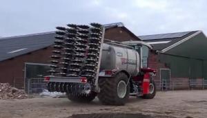 VERVAET公司三轮液态肥施肥机作业视频