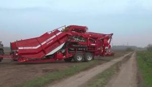 格立莫公司RH24-60马铃薯转运机作业视频