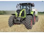 科樂收Axion800拖拉機作業視頻