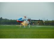 天鹰兄弟TY-787单旋翼无人机作业视频