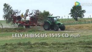 莱利Hibiscus系列搂草机工作原理视频