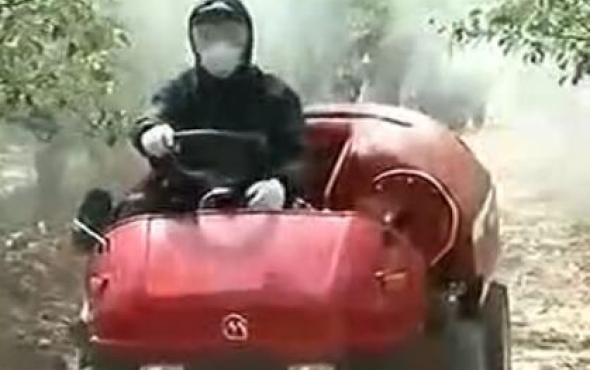 丸山高效果林噴霧車
