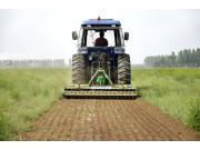 大华宝来1GQNS-230型双轴旋耕机作业视频