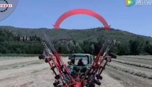伊諾羅斯Dragonfly7700旋轉式摟草機作業視頻