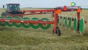 伊诺罗斯Y-Rake14三指轮式搂草机